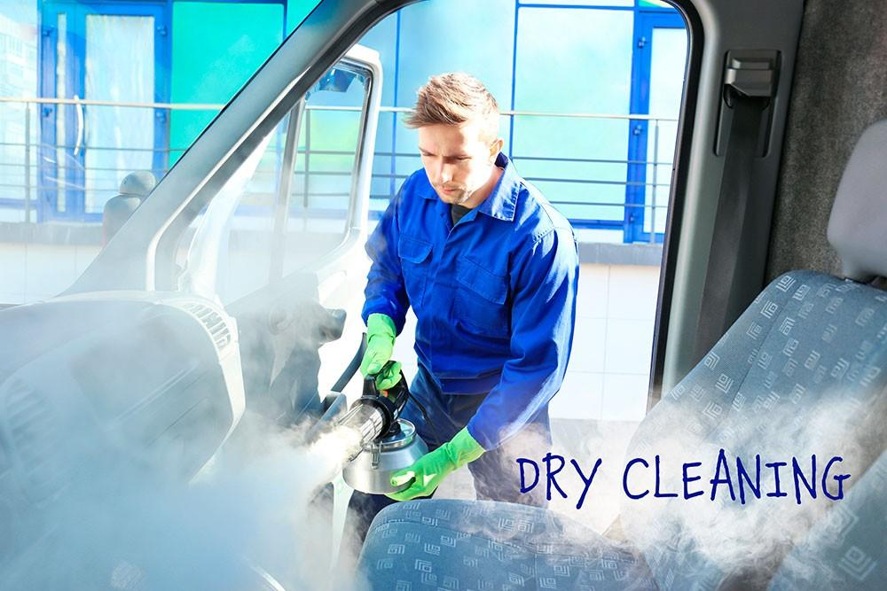 услуги уборки в автосалоне